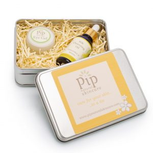 PIP Eye Gel and Cleansing Oil Gift Set